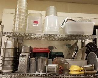 Inset Pans, Fry Baskets, Plastic Containers and More