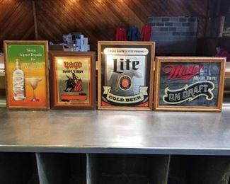 4 Beer Signs