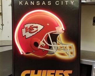 Kansas City Chiefs Sign Neon