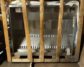 Brand New Exhaust Hood Without Exhaust Damper