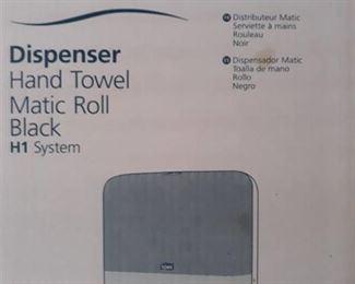 (2) Tork Matic Hand Towel Dispenser Black