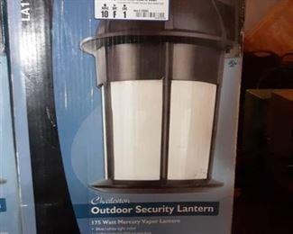 Charelston Outdoor Security Lantern 175 Watt