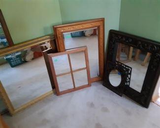 Various mirrors