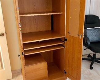 Inside Locking Office Cabinet
