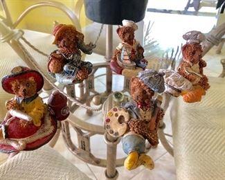 Collectible Bear Figures