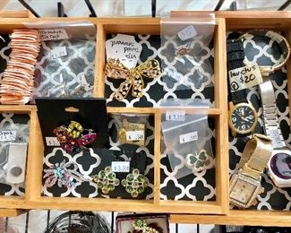 Estate Sales are a great way to find unique jewelry pieces!