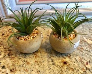 Tiny Faux Succulents
