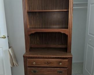 $50  Bookshelf with drawers