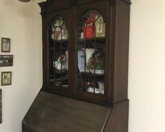 Antique china cabinet/secretary