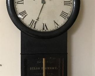 Time only - Silas B Terry Clock 1850's