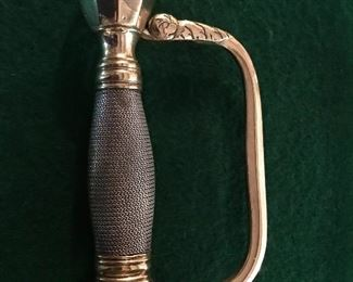 Unmarked 1800's sword in the style of confederate sergeants sword