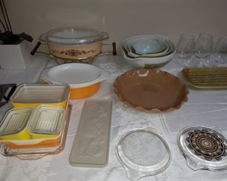 A huge collection of Pyrex