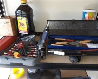 Hand Tools including Chisels, Allen Wrenches, Socket Wrenches and More