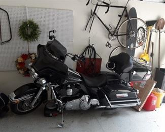 Harley Davidson Motorcycle; more information to come.