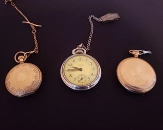 Vintage Pocket Watches https://ctbids.com/#!/description/share/208372
