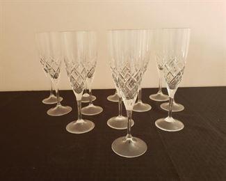 12 Rogaska Crystal Glasses https://ctbids.com/#!/description/share/210650