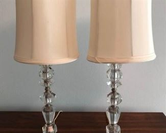 Pair of Lamps with Glass Baseshttps://ctbids.com/#!/description/share/207768