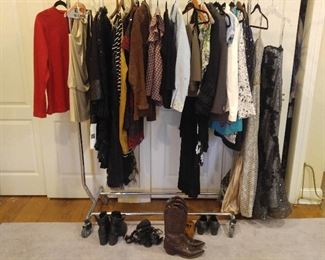 Yet more clothes and shoes