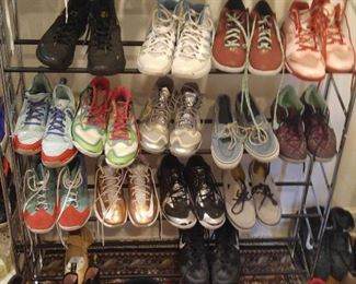 Awesome collection of men's sneakers, some never worn