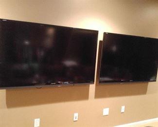 Pair 60 inch TVs