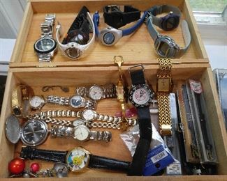 Various watches. Others not shown here