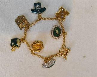 Eagles charm bracelet
