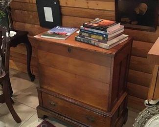 Nice antique blanket chest