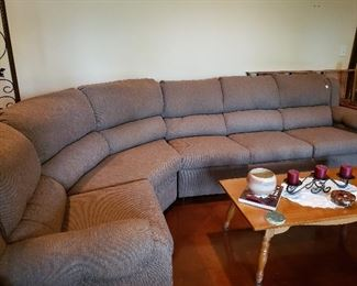 Three-piece sectional sofa