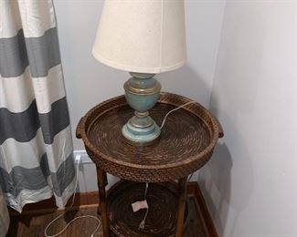 Side tables /detachable top/bottom 40$ each (2 available)