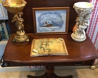 Antique Drop Back Table