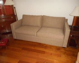 Crate & Barrell sleeper sofa. Newer, In very good condition.