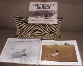 Andrew Wyeth oversized books of artwork