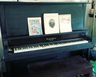 Antique Bush &  Gerts piano