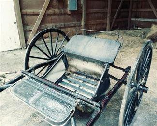 Houghton Sulky show horse cart