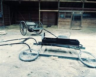 Fine harness buggy