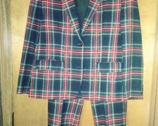Pendelton wool vintage suit