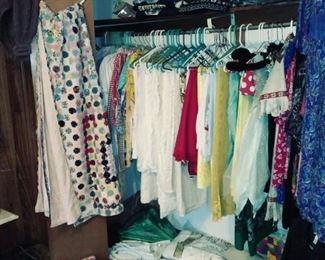 linens, aprons, etc