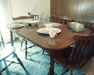 Ethan Allen table and 4 chairs