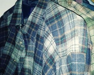 vintage Pendleton wool shirts