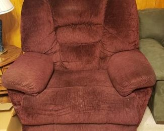 Oversized LaZBoy recliner