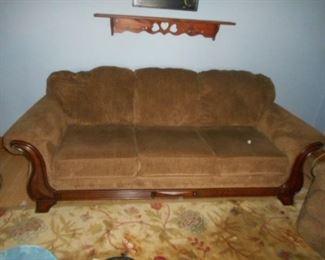 7' long sofa, in very good condition.  Non-smoking home.