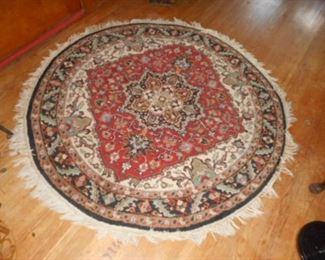 """60"""" wool rug"""