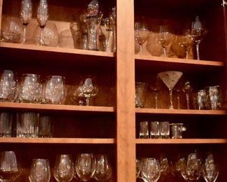 Glasses and barware