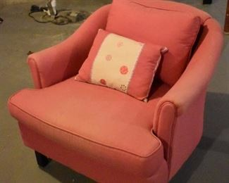 Second pink chair