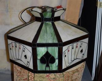 Poker light shade