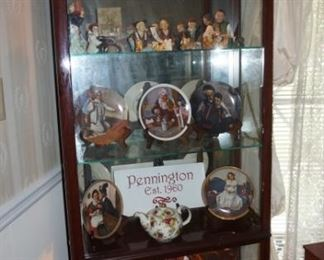 Display Cabinet, Jade, Japanese Dolls, Dishes