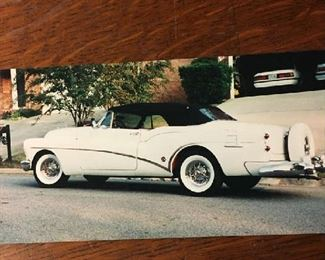 1953. Buick Skylark Convertible 50th Anniversary Mileage 95,000