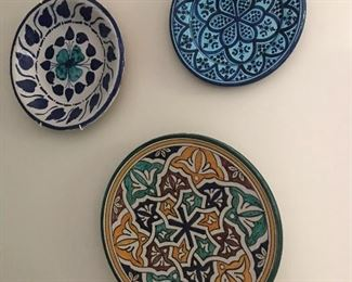 Plates from Morocco