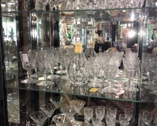 Baccarat and Waterford Crystal