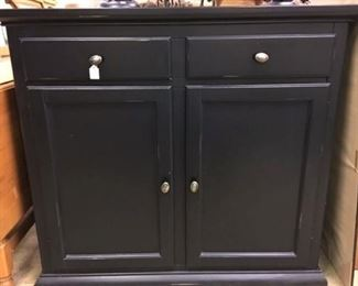 Black Shaker style Cabinet